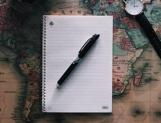 scrivere carta geografica
