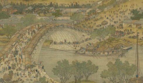 lungo il fiume festival qingming-rotolo